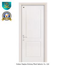 Puerta de madera del color blanco del estilo moderno para el interior (ds-104)