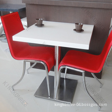 Artificial Stone Dining Table/Artificial Quartz Stone Restaurant Dining Table