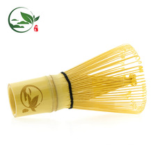 Respetuoso del medio ambiente 80 dientes Bamboo Material Matcha Tea Batidor