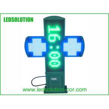 LED-Apotheken-Kreuz-Bildschirm P16 im Freien