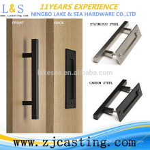 sliding barn door hardware door handle / sliding door system / barn door handle