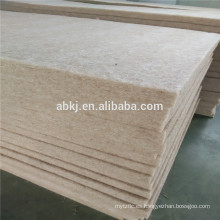 2 mm - 50 mm de espesor de fieltro de lino Manta ignífuga, prevención de fuego de lino-algodón