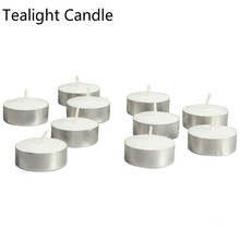 4 ore 100pcs candele del tealight acquisto online Hong Kong