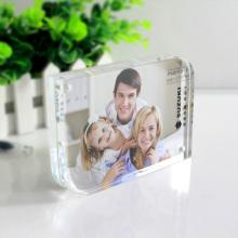 Cadre photo magnétique acrylique double face