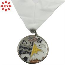 Médailles de religion époxy de haute qualité avec ruban (XY-mxl9405)