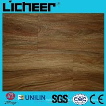 Wpc à prova de água piso compósito Composto 6 Preço: 6,5 mm Wpc Pavimentação 7inx48in de alta densidade Wpc Wood Flooring