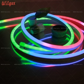 Full color changing addressable LED neon light