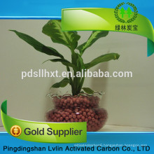 Manufacture Supply Water Treatment Materials 2-4mm Natural Ceramsite Sand