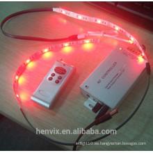 Alto lumen impermeable smd5050 color de sueño digital rgb llevó tiras 5v hl1606