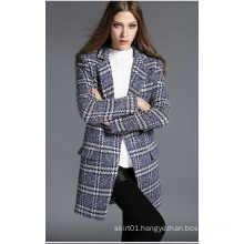 2016 Winter Turn-Down Collar Long Style Women′s Coat