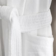 Weiße Farbe Hotel Qualität 100 Baumwolle Frauen Bademantel