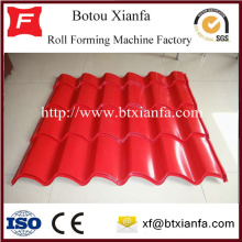 Double Corrugated Roof Sheet Metal Roll Forming Machine