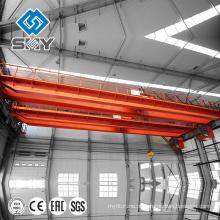 Guindaste de ponte dobro amplamente utilizado do gancho da viga de QD / guindaste aéreo guindaste de ponte largamente usado de 75 toneladas do gancho da viga do QD / guindaste aéreo 75 toneladas