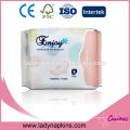 Compañía privada de la etiqueta de las servilletas sanitarias orgánicas de calidad superior de China
