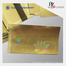 50 micron PET Adhesive Hologram Overlay Stickers for Pvc Card