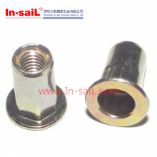Flat Head Semi-Hex Body Rivet Nuts M10 Nuts