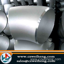 A403, F304 Steel Elbows Butt Weld Pipe Fittings, D...