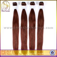 Международное Лот 4шт Поставщик Перуанский прямые человеческие волосы девственницы 7а