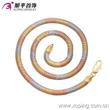 42459 Fashion Multicolr Delicate Women Jewelry Necklace en aleación de cobre sin piedra