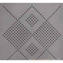 Hoja perforada de acero inoxidable perforada