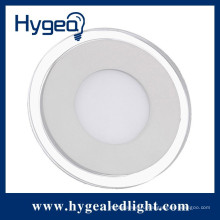 25W Крытый корпус супер водонепроницаемый светодиодные круглые стеклянные панели света