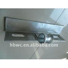 stainless steel hardware, galvanized crossarm