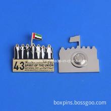 UAE National Day Logo Badge with Round Magnet (BOX-UAE national day logo badge with round magnet-01)