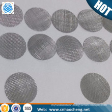 15mm Silver Smoking Pipe Screen by stainless steel material