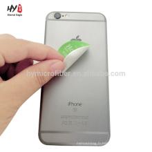 Nettoyant collant doux pour téléphone mobile de qualité supérieure