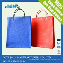 China Großhandel billig Mode Kleidungsstück Kraft Papier Tasche