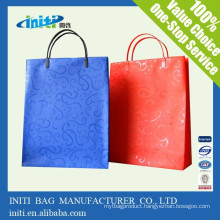 China wholesale cheap fashion Garment Kraft paper Bag