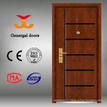 China armored steel-wood outdoor wooden doors