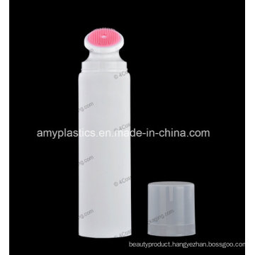 "50mm (2"") Plastic Round Tube with Brush Applicator for Cosmetics Packaging"