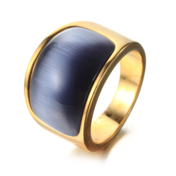 Lelaki Dance Gold Big Ring Gemstone