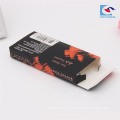 barato plegamiento de las pestañas del ojo visón 3d caja de embalaje