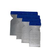 Plastic handle carbon steel/stainless steel scraper putty knife paint tools spatula set