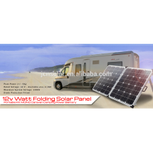 JCN 12V 120w dobrando o painel solar para o uso ao ar livre