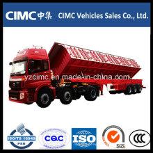 Reboque de descarga lateral Cimc 3 Alxe 80 Ton