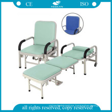 AG-AC001 Folding Accompany Chair Optional Foldable Metal Chair