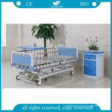 Lit d'hôpital manuel de cinq fonctions de meubles médicaux d'AG-CB013