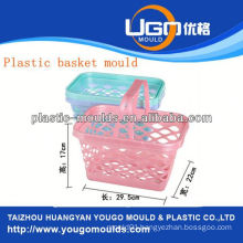 shopping plastic basket mould injection basket mould in taizhou zhejiang china