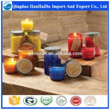 Top-Qualität reines Soja-Wachs Kerze im Glas mit angemessenem Preis und schnelle Lieferung auf heißer Verkauf !!!