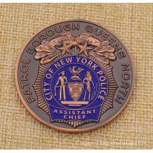 Custom Nyfd Coin, Nypd Challenge Coin, Police Coin