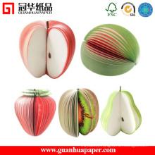 New Design Memo Pad Fruit Note Paper
