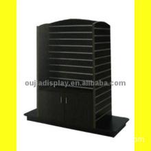 wooden slatwall cabinet/store display fixture/fashional shopfitting