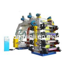 8 cores máquina de impressão Flexo