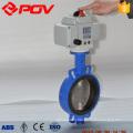 dn200 wafer butterfly motorized butterfly valve