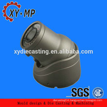 High Precision oem cctv/ip camera parts/cnc machining housing