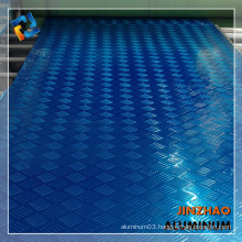 3105 H16 embossed aluminum sheet for floor at factory price