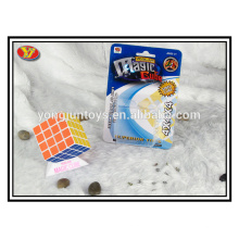 Hot selling plastic 4x4 magic puzzle cube educational toys